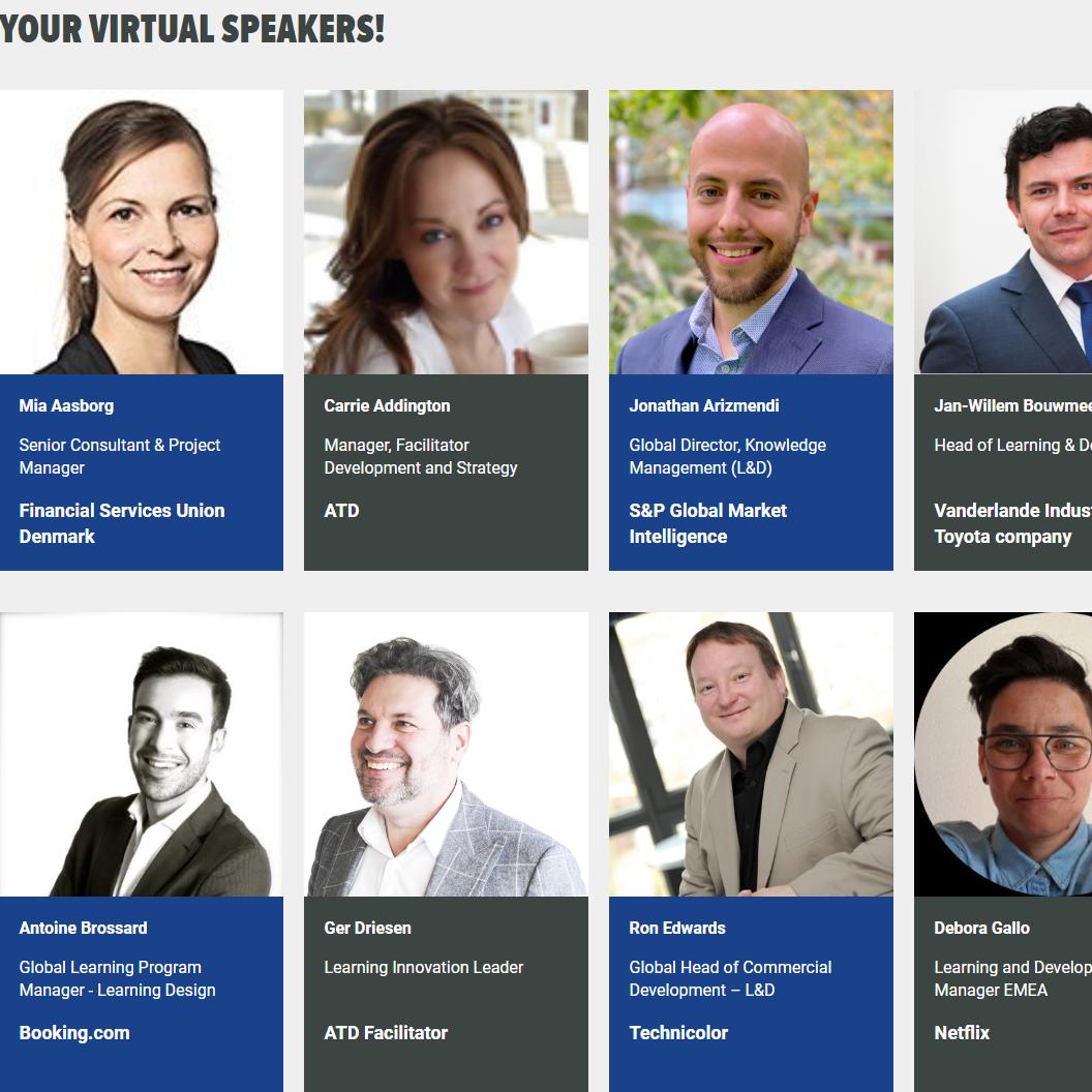 ATD European Summit 2020 - Virtual Event